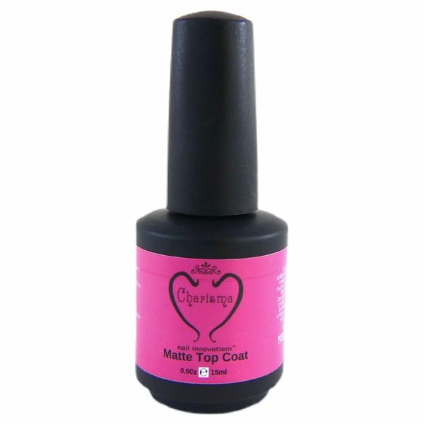 NEW ITEM 1/2oz Charisma Nail Matte Top Coat