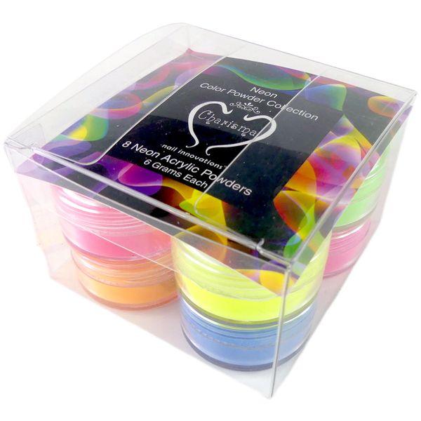NEON 8pc Acrylic Color powder Kit