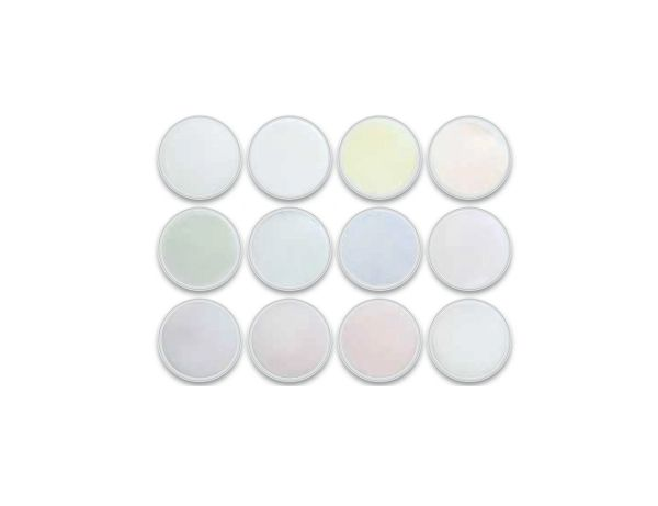 Charisma Transparent Glitter 12pc Color Powder Kit