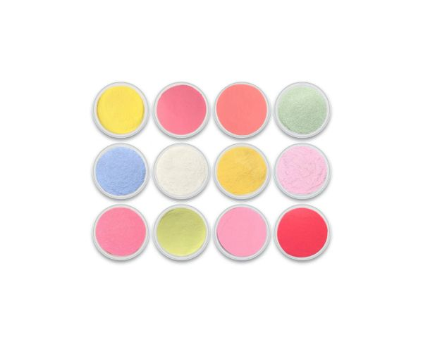 Charisma Ultra Brights 12pc Color Powder Collection