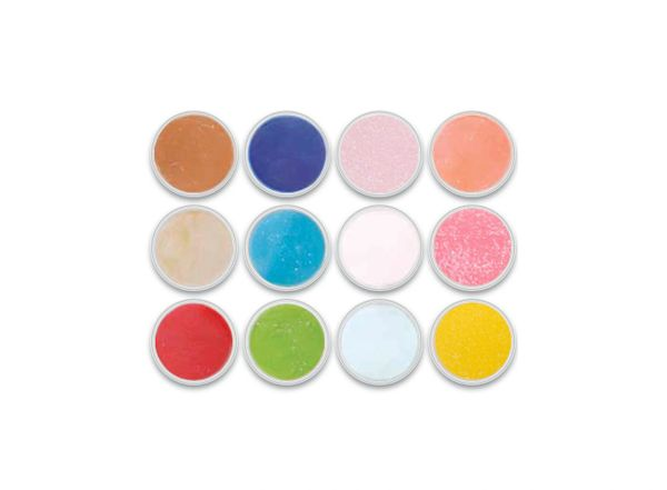 Charisma Glitter 12pc Color Powder Kit