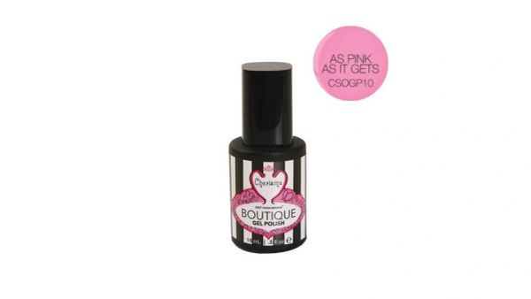 Charisma Boutique Gel Polish-As Pink As It Gets .5oz