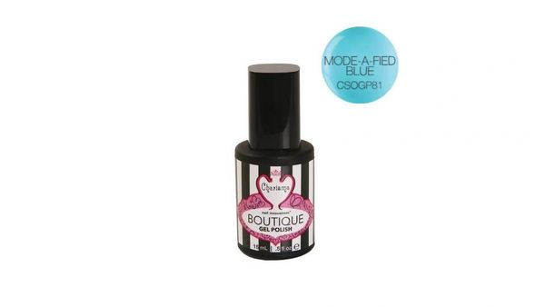 Charisma Boutique Gel Polish-Mode A Fled Blue .5oz