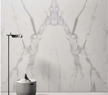Calacatta porcelain slab bookmatch from Italy Florim, Level, Iris, Antolini, Epic, Spaienstone