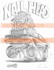 "1965 Skylark Nailhead - Print 17""x 24"""