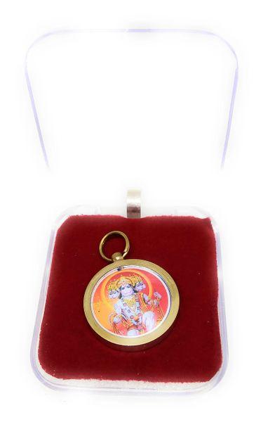 Panchmukhi Hanumaan Gold Plated Yantra Locket