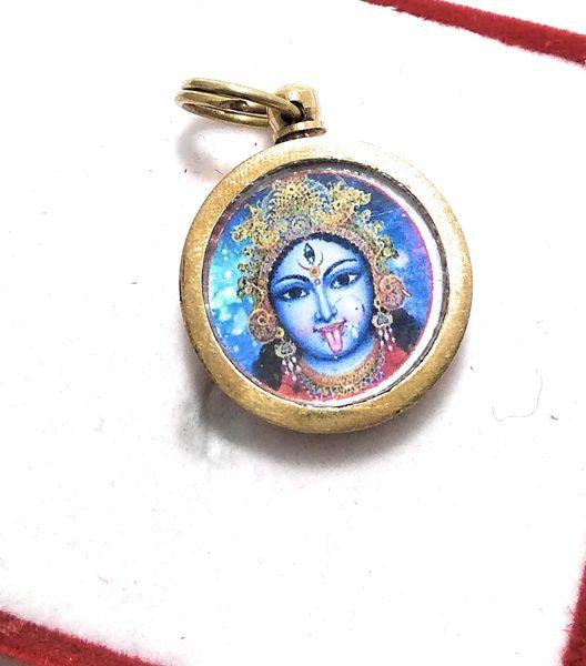 Ashtadhatu Gold Plated Small Vashikaran Yantra With Mantra For Man,Woman