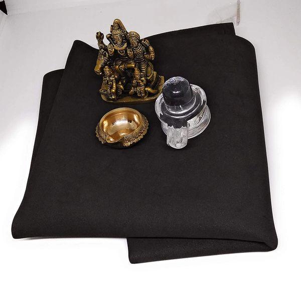 Ashtadhatu 3 Combo Set of Shivparivar Idol,Kuber Diya with Crystal Shivling for Home Temple