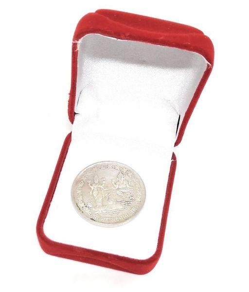 Mahalakshmi Silver Coin