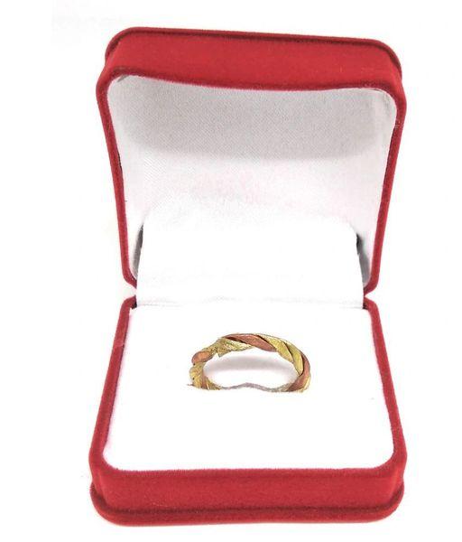 Tridhatu Ring Alloy Of Three Metals