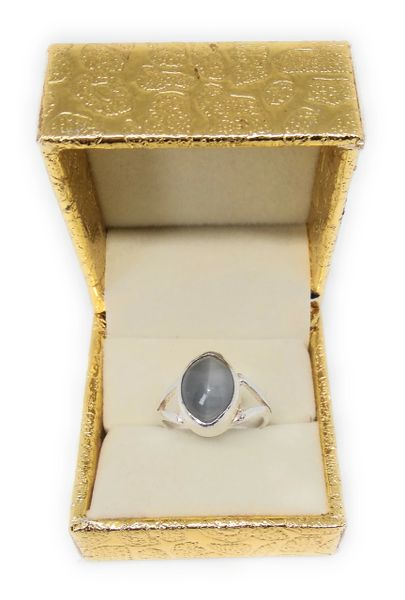 Cat's Eye (Adjustable) Ring in Silver for Remove All Types of Negative Energy