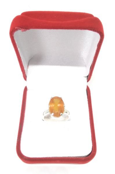Pukhraj Adjustable Ring ( Yellow Sapphire) In Silver for Remove Negative Energy and Increase Your Health Wealth And Prosperity