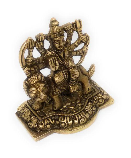 Aashtadhatu Sherawali Mata Devi Idol for Home Temple Pooja to increase wealth and Prosperity ( 6.5 x 6)