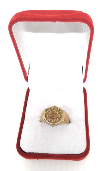 Ashtadhatu Shree Yantra Ring
