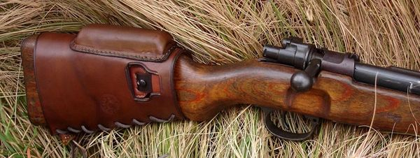 Mauser K98/M48 Butt Stock Cover with Cheek Rest