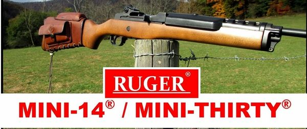 Ruger Mini 14/ Ruger Mini 30 Stock cover with cheek riser