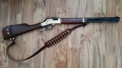 No Drill Harnessed Sling for Lever Action Rifles