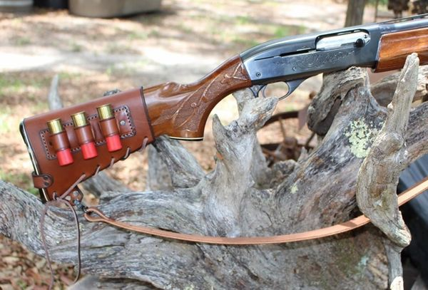 No Drill Harnessed Stock Cover Combo for Shotguns Remington, Mossberg, Benelli, and other models.