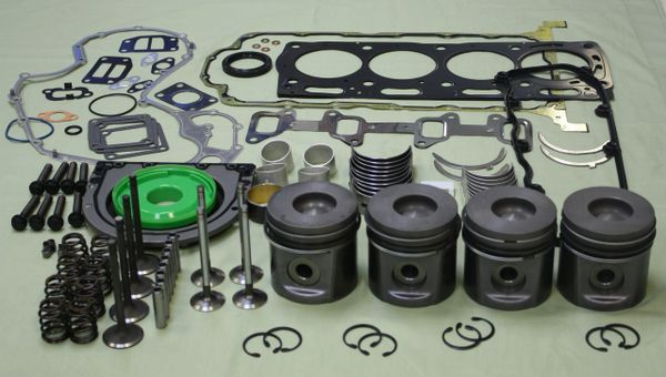 Perkins 1104C-44 (RE, RF, RR Builds) Engine Overhaul Rebuild Kit POK412
