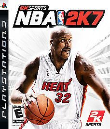 NBA 2K7 (Sony Playstation 3, 2006) (DISC ONLY)