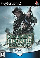 Medal of Honor: Frontline (Sony PlayStation 2, 2002) (DISC ONLY)