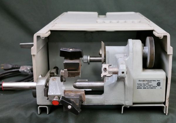 Curtis Industries, Inc 3000 Automatic Key Cutter With Marathon Electronics ZVN48S17D1105B P Motor