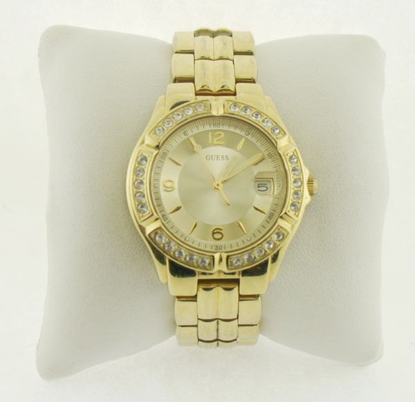 Women's GUESS Watch, Gold-Tone 36mm U85110L1