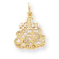 Number 1 Sister Charm (JC-710)