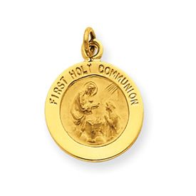 First Holy Communion Medal Charm (JC-726)