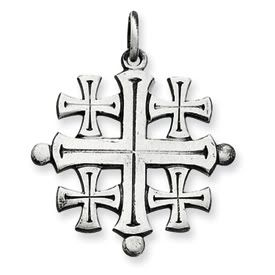 Jerusalem Cross Pendant (JC-804/JC-824)