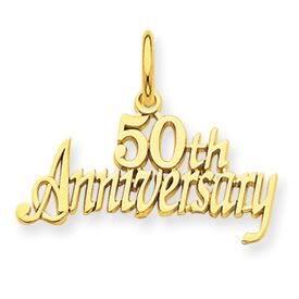 50th Anniversary Charm (JC-823)