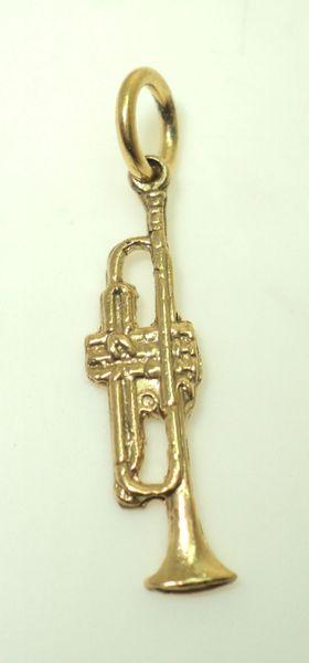 3-D Trumpet Charm (JC-877)