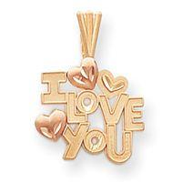 I Love You w/ Hearts (JC-657)