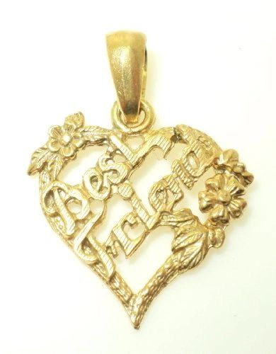 Best Friend Heart Charm (JC-278)