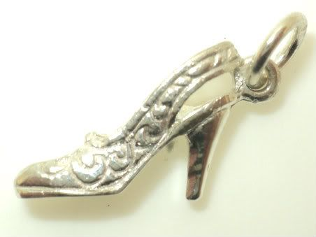 Women's Heel Shoe Charm (JC-400)