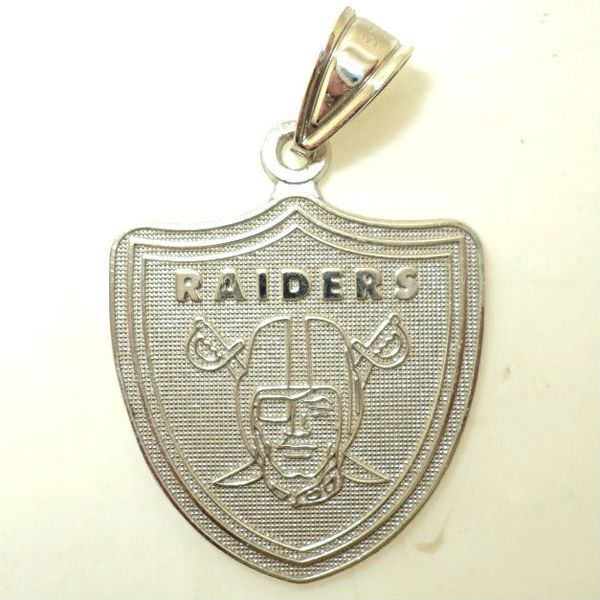 Medium NFL Raiders Charm (JC-300M)