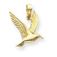 Polish Seagull Flying Fancy Pendant (JC-297)