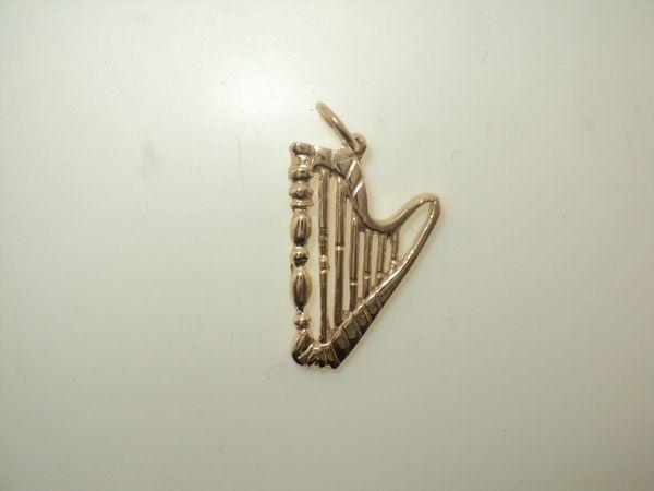 Medium Harp Charm (JC-277)