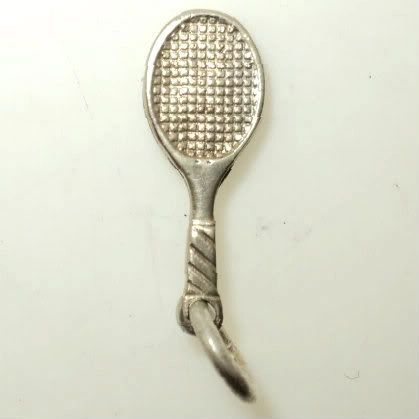 Solid 3D Tennis Racket Charm (JC-149)