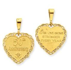 50th Anniversary Reversible Charm (JC-099)