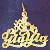 Number 1 YiaYia Pendant (JC-070)