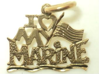 I Heart My Marine Charm (JC-037)