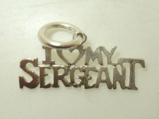 I Heart My Sergeant Charm (JC-033)