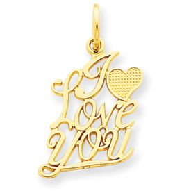 I Love You Little heart Charm (JC-803)