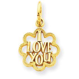 I Love You Charm (JC-907)