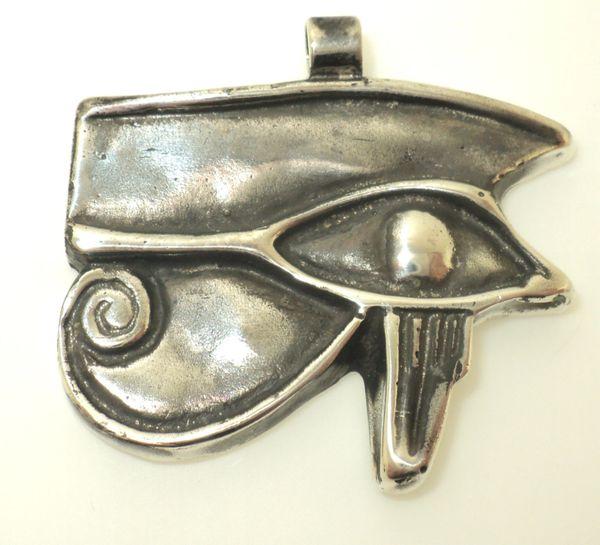 Solid Eye of Ra Pendant (JC-942)