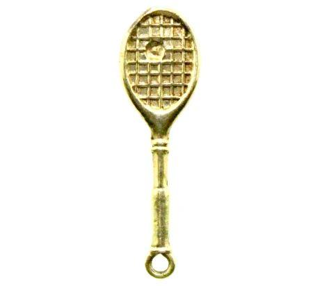 Tennis Racket with Ball Charm (JC-289)