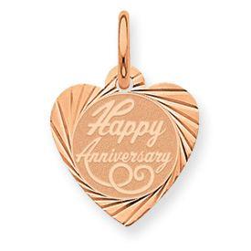 Happy Anniversary Heart Charm (JC-106)