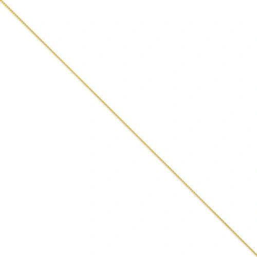 14k 0.95 mm Parisian Wheat Chain