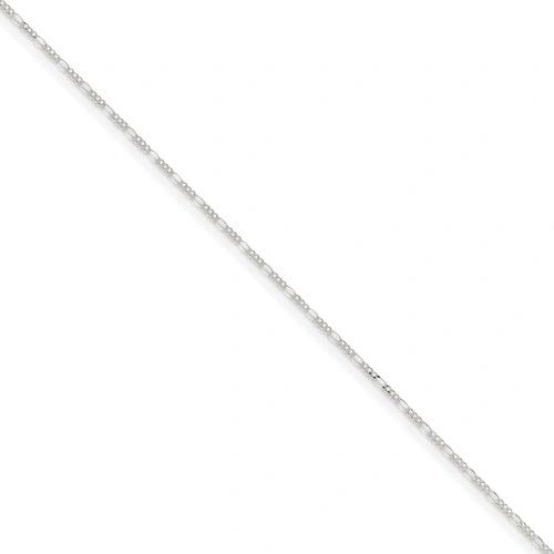 Sterling Silver 1.5 mm Figaro Chain
